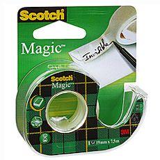 Băng keo Scotch magic có cắt keo 12x4