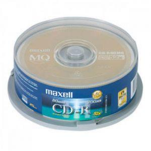 Đĩa CD Maxell lốc 10 cái