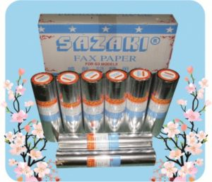Giấy fax nhiệt Sazaki 210