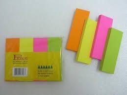 Giấy note màu 4 mảnh Stickii (3x3 - có 4 màu/xấp)