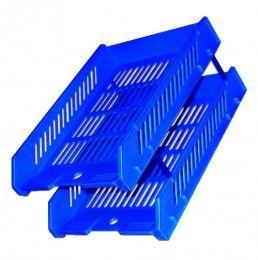 Kệ nhựa 2 tầng trụ No-182-2 / TTM