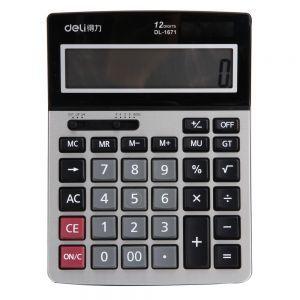 Máy tính Deli 12 số 1671 (bảo hành 12 tháng)