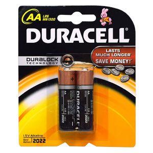 Pin Duracell 2A chính hãng (vĩ 2 viên)